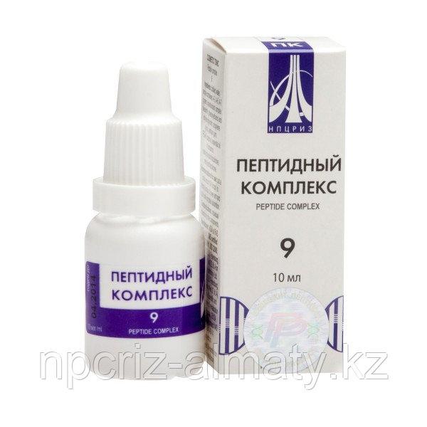 Пептидный комплекс (ПК) - 9 для мужской половой системы
