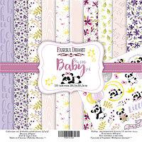 "Набор бумаги ""My little baby girl"", 30,5х30,5 см"