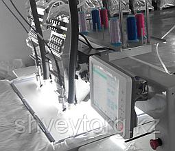 Промышленная вышивальная машина Ricoma CHT1201 W с лазером