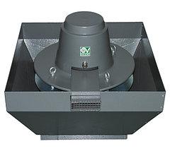Крышные центробежные вентиляторы серии TR ED-V, с вертикальным выбросом воздуха.