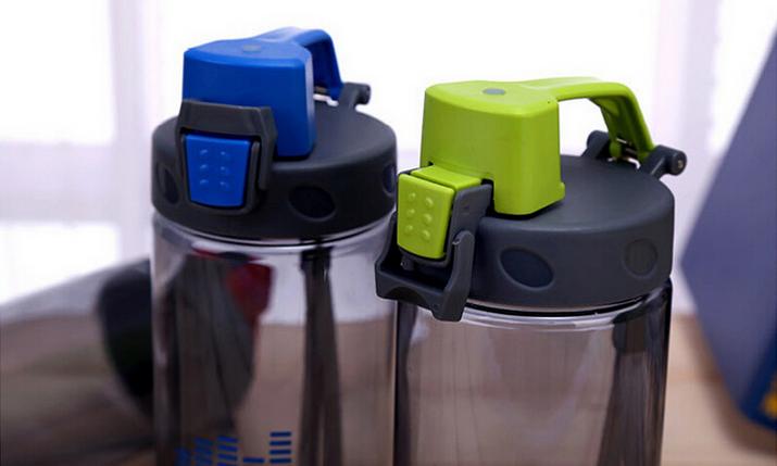 Бутылочка для воды RUNRI Beverages 550 мл, емкость для воды (с заварником) оранжевая - фото 2