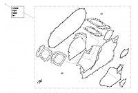 Набор прокладок двигателя CFMoto OEM 0800-0000A1