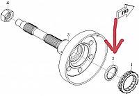 Сальник колокола сцепления CFMoto OEM 0180-053005