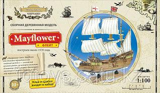 Сборная деревянная модель GOOD HAND Флейт May Flower (1:100)