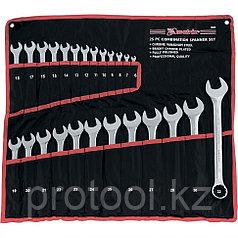 Набор ключей комбинированных, 6 - 32 мм, 25шт., CrV, полированный хром// MATRIX