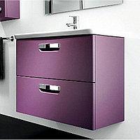 Комплект: Раковина + Тумба THE GAP фиолетовый 80 см (Z.RU93.0.274.0 ), (7.3274.7.000.0 )