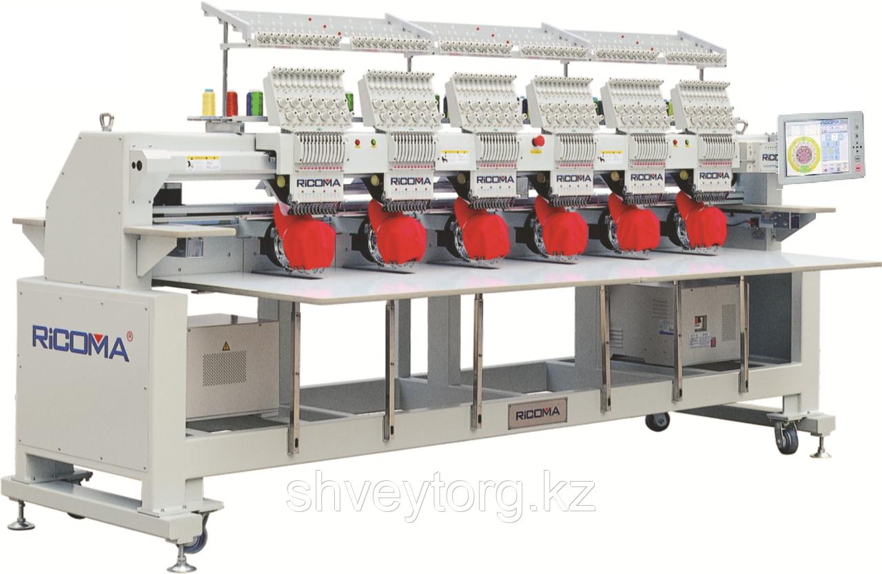 Промышленная 6-головая вышивальная машина Ricoma CHT-1206