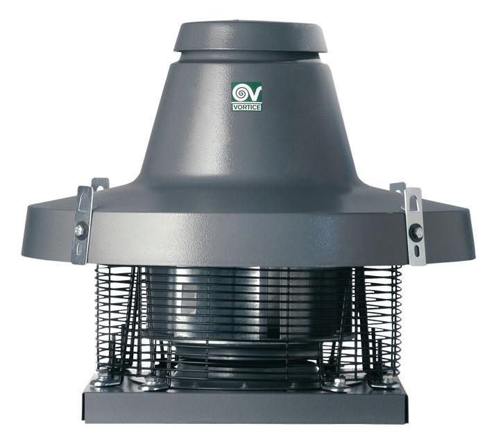 Крышный центробежный вентилятор TRM 15 ED 4P