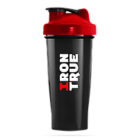 IronTrue - Шейкер 700мл. Красный-черный