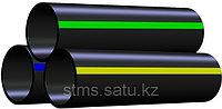 Труба ПЭ 110x10,0 SDR 11 HDPE 100 питьевая ГОСТ 18599-2001