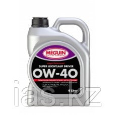 Моторное масло Meguin Super Leichtlauf Driver 0w40 4 литра