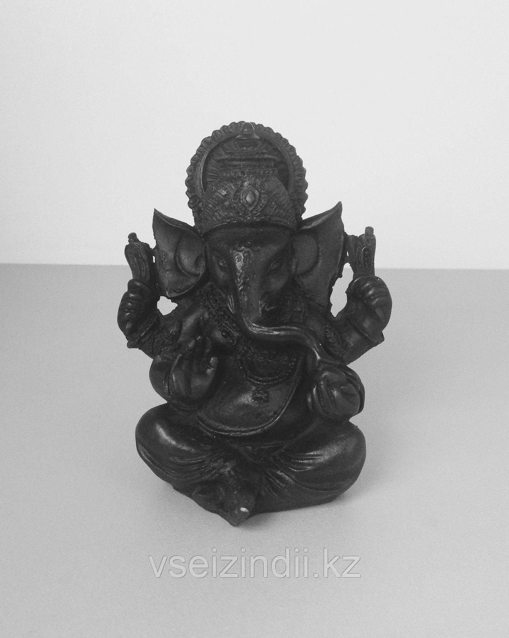 Сувенир Ганеша, цвет черный (высота 9 см)