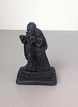 Статуэтка Радха-Кришна, цвет черный
