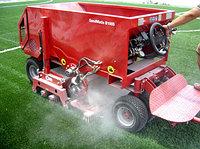 Расчесывание футбольных полей Европейским оборудованием SMG