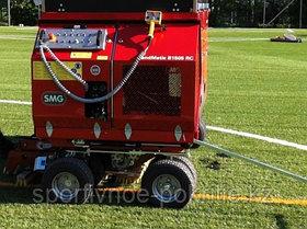 Расчесывание футбольных полей Европейским оборудованием SMG, фото 3