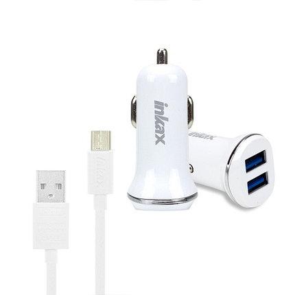 Автомобильное зарядное устройство INKAX CD-13 Micro USB 1A, фото 2