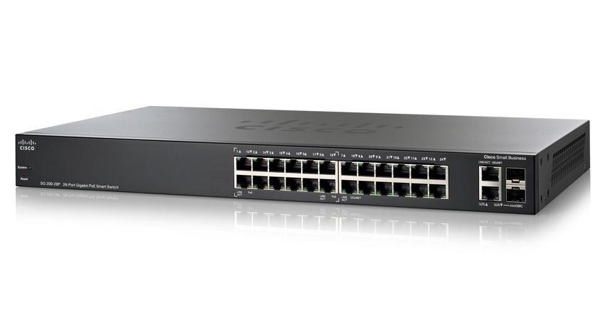 Коммутатор Cisco SLM2024PT-EU (SG200-26P)