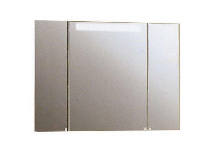 Зеркальный шкаф Акватон, МАДРИД 100, со светильником - фото 1