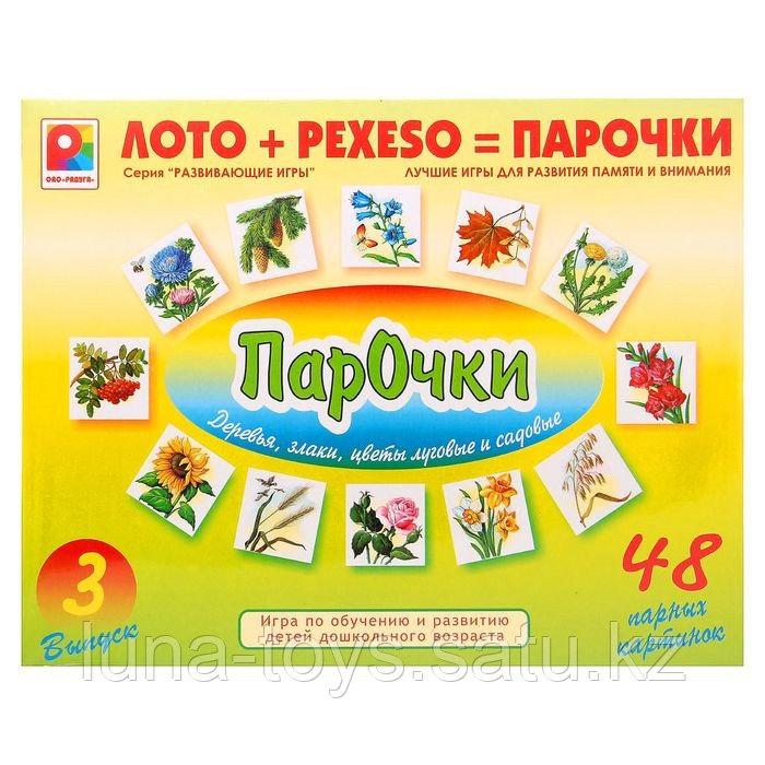 """Игра настольная """"Парочки-3"""" С-159"""