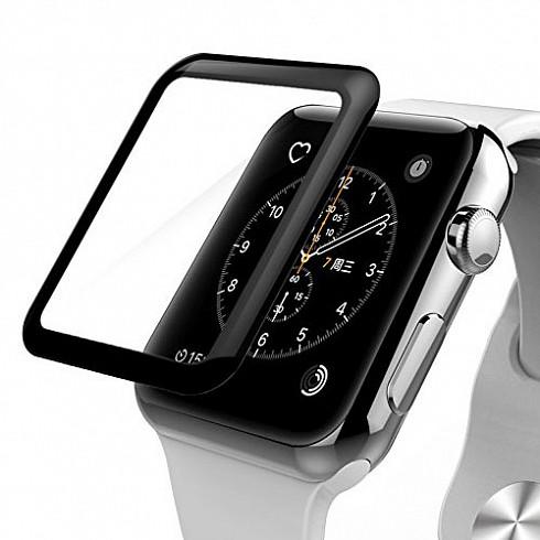 Защитное стекло 3D Apple Watch 42mm