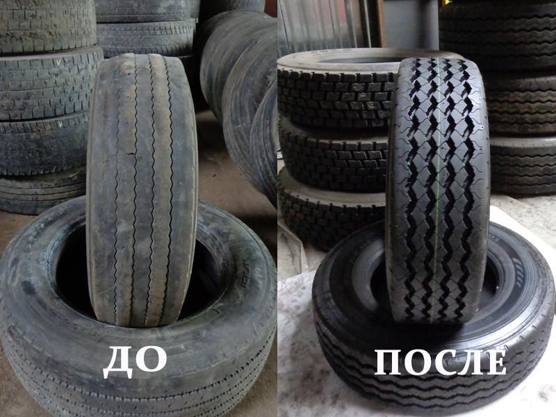 Реставрация шины 235/75 R17,5