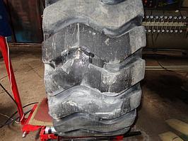 Ремонт крупногабаритной шины от погрузчика 4