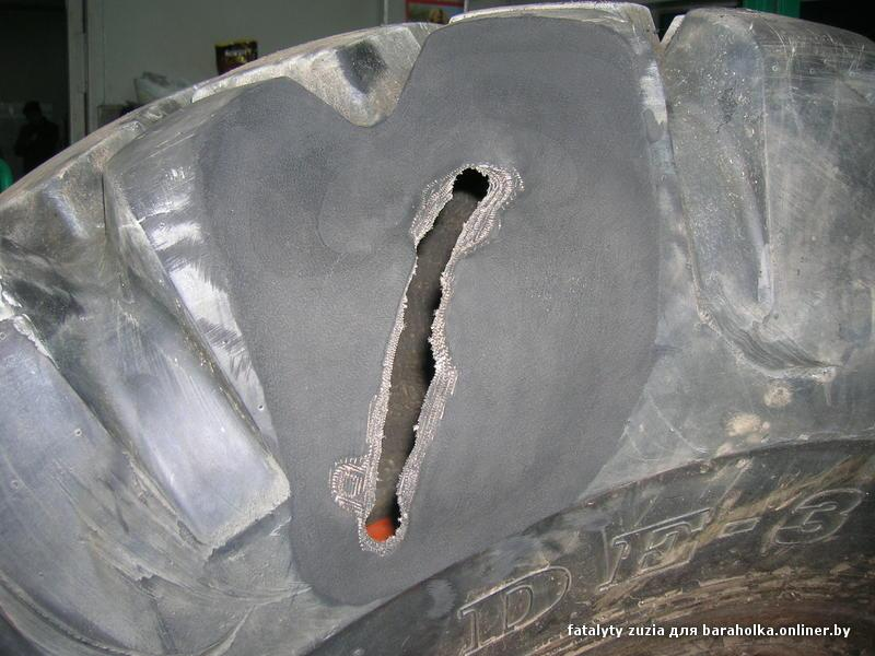 Ремонт бокового пореза
