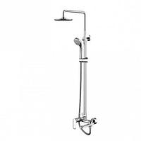 Душевая стойка Bravat Opal R F6125183CP-A2-RUS со смесителем для ванны
