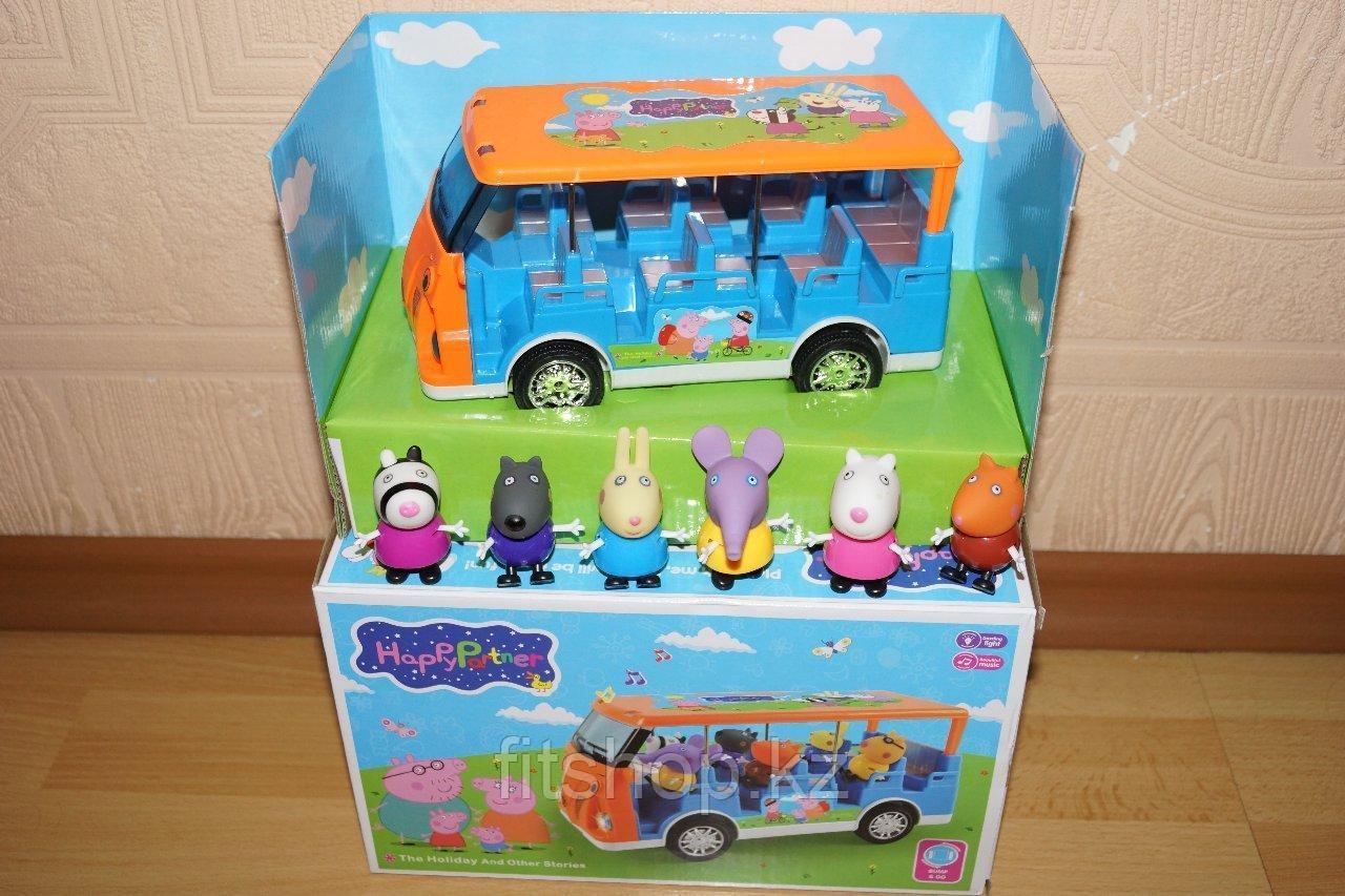 """Игровой набор """"Автобус для друзей свинки Пеппы"""""""
