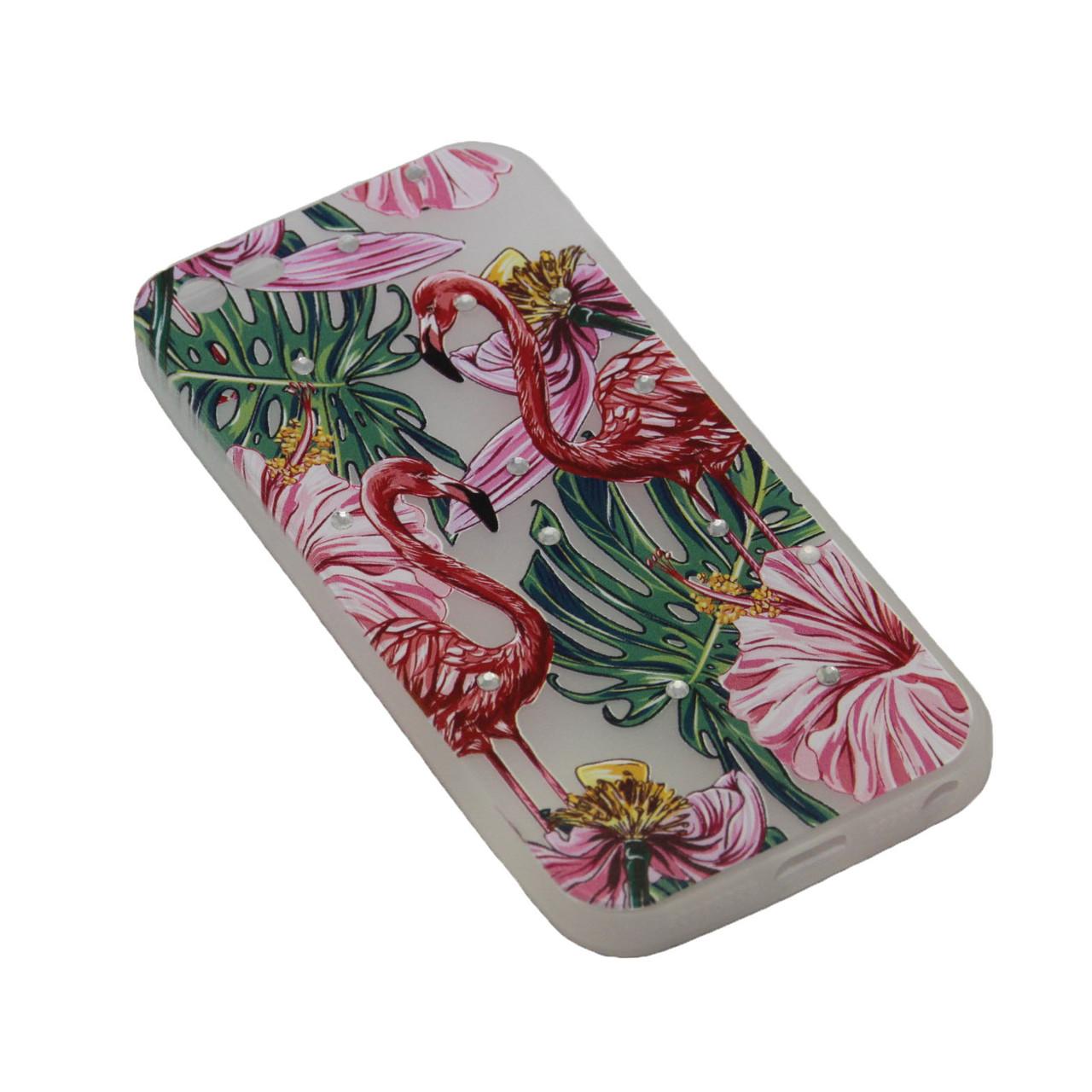 Чехол Fashion Силикон Стразы 2 iPhone 7 Plus - фото 4