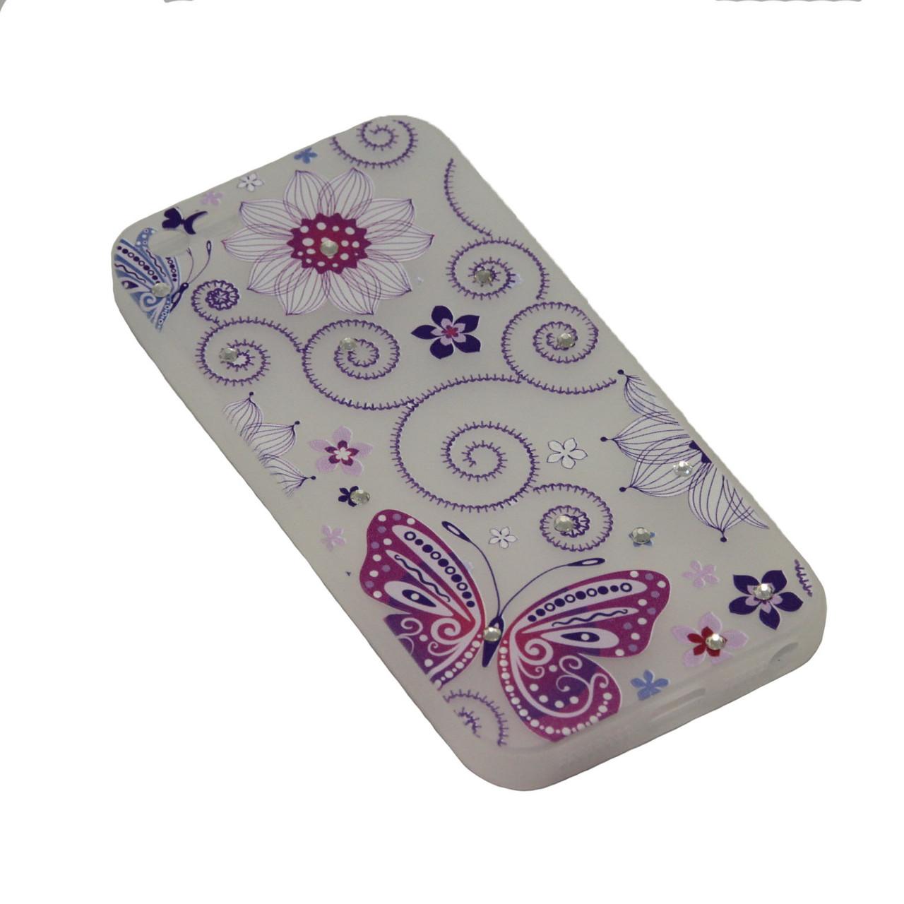 Чехол Fashion Силикон Стразы 2 iPhone 7 Plus - фото 5