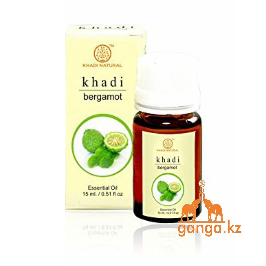 Натуральное эфирное масло Бергамота (Essential Oil Bergamot KHADI), 15 мл