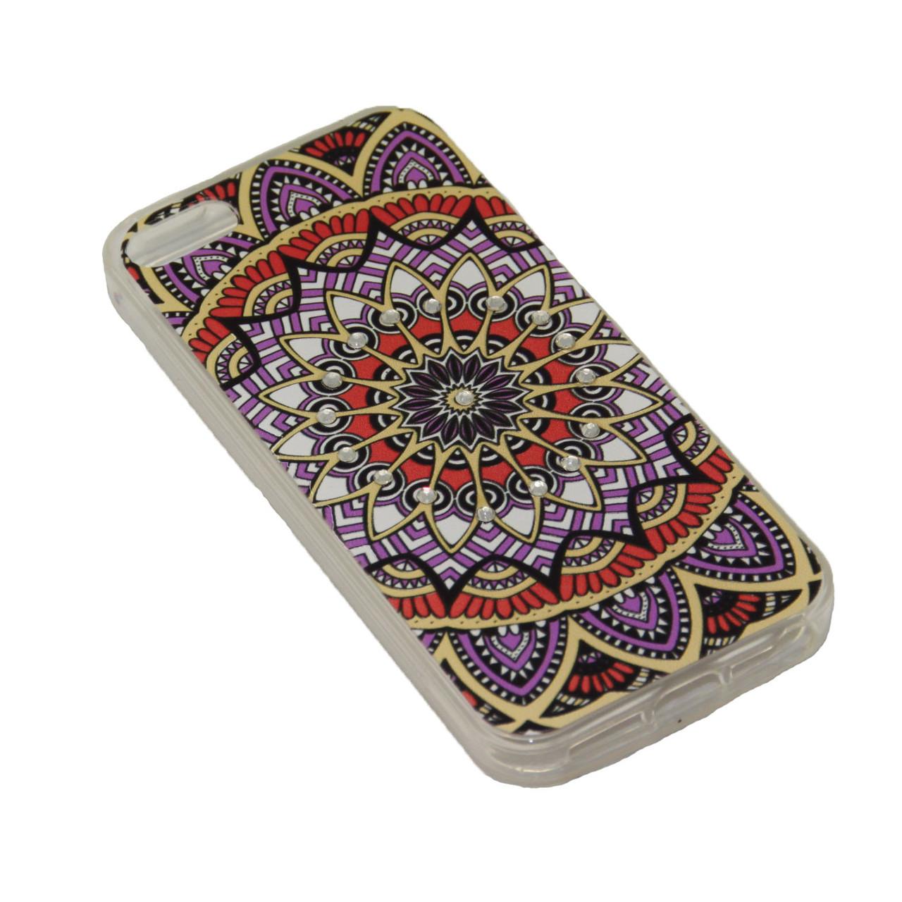 Чехол Fashion Силикон Стразы iPhone 7 Plus - фото 3