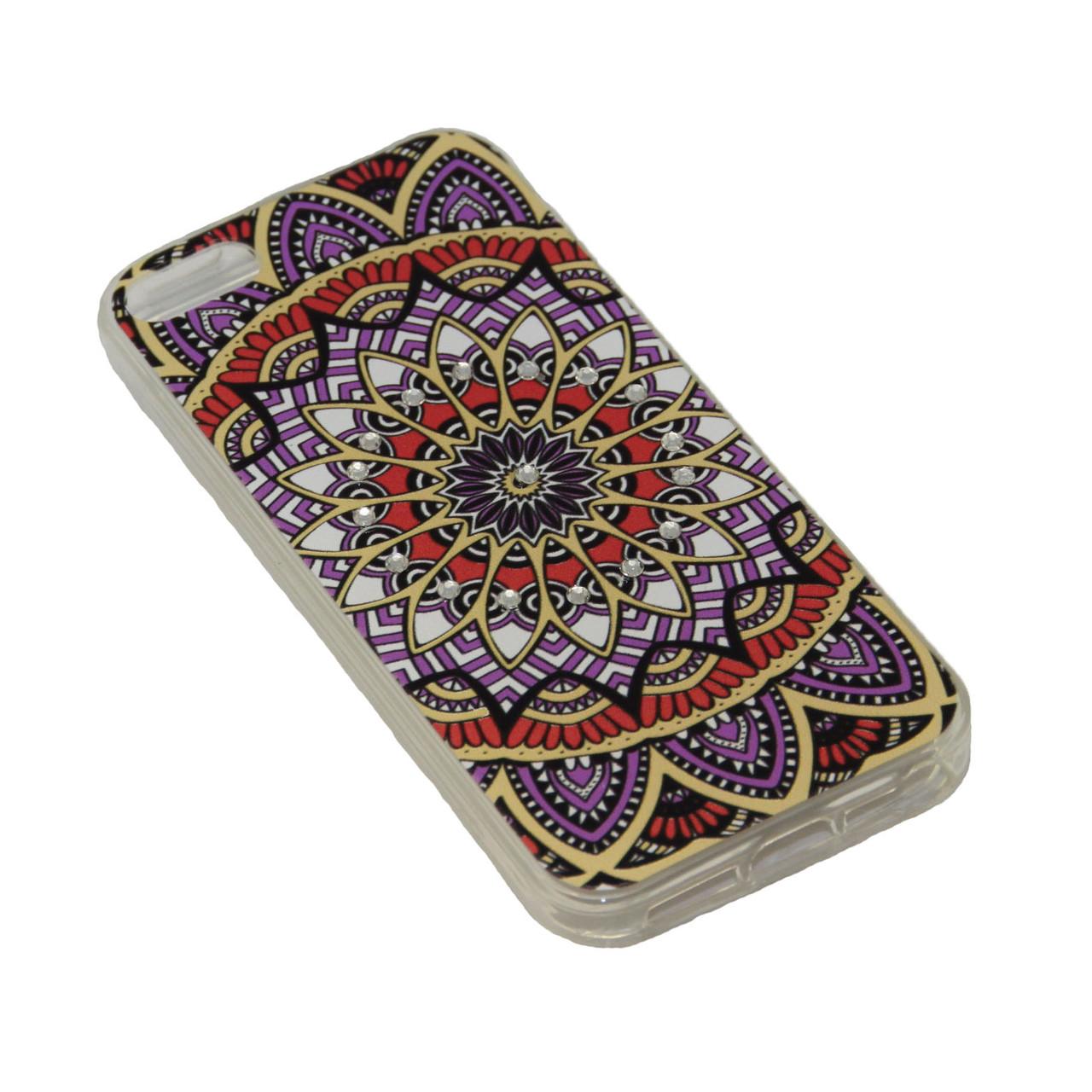 Чехол Fashion Силикон Стразы iPhone 7 Plus - фото 4