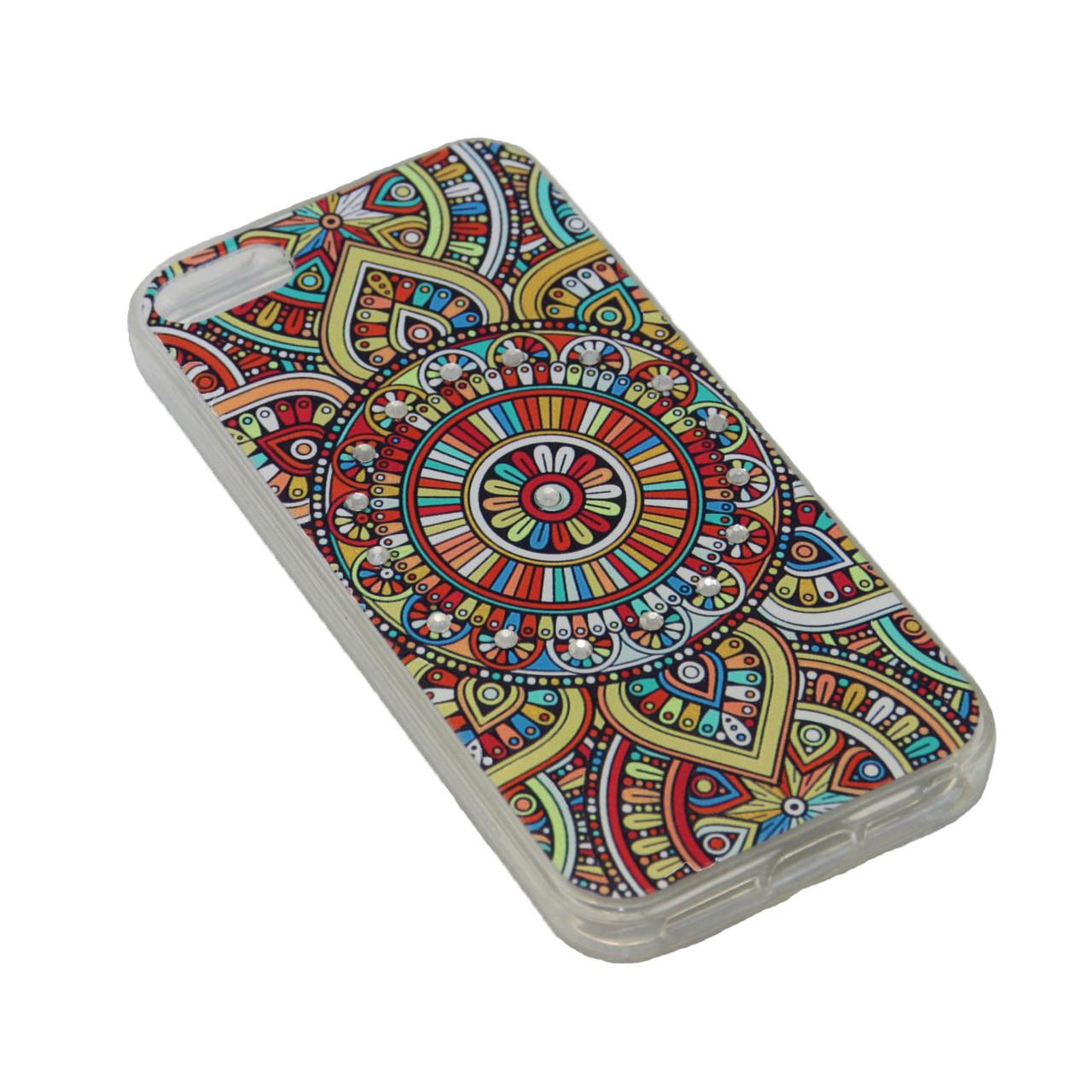 Чехол Fashion Силикон Стразы iPhone 7 Plus - фото 6