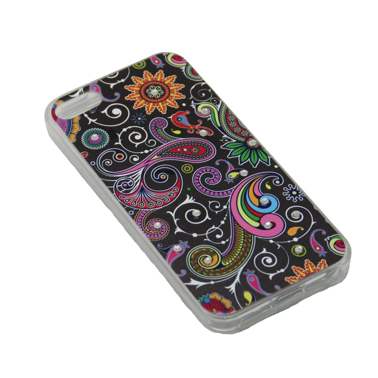 Чехол Fashion Силикон Стразы iPhone 7 Plus - фото 7