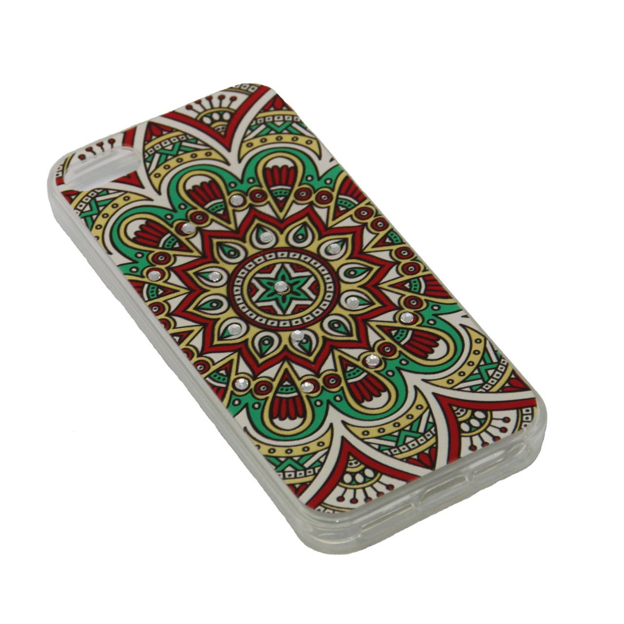 Чехол Fashion Силикон Стразы iPhone 7 Plus - фото 8