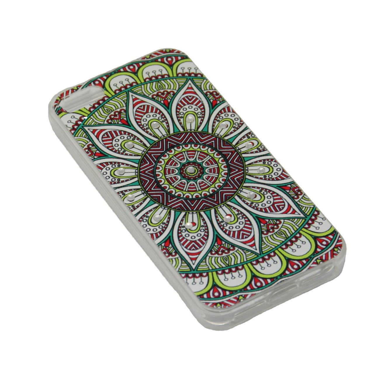 Чехол Fashion Силикон Стразы iPhone 7 Plus - фото 9