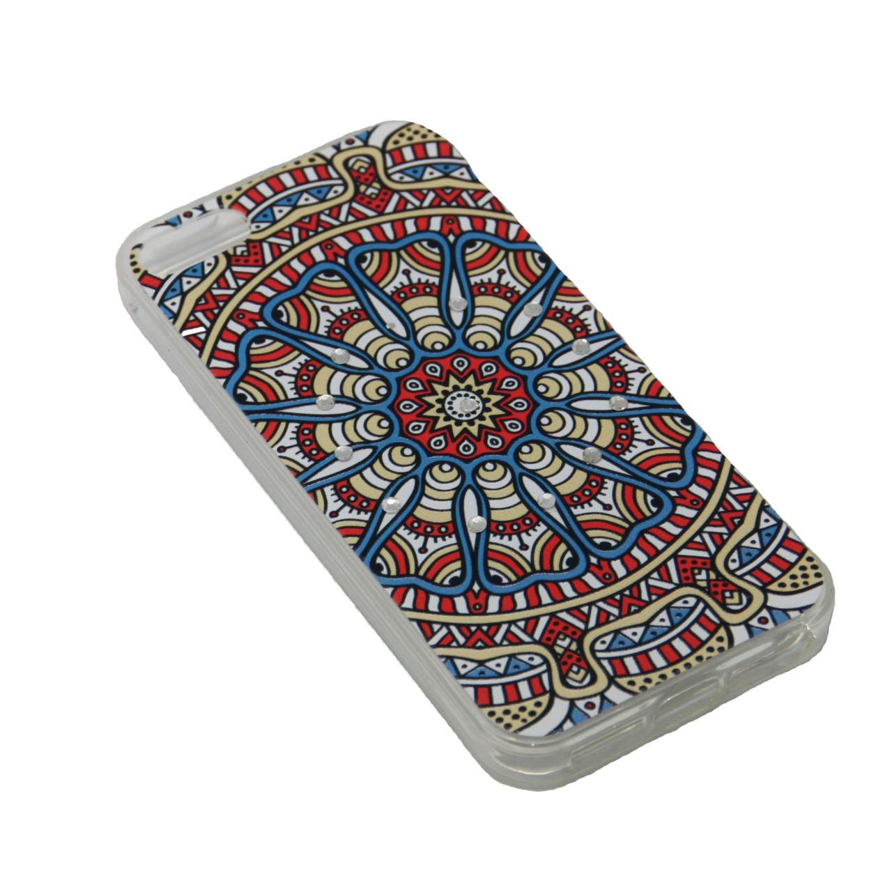 Чехол Fashion Силикон Стразы iPhone 7 Plus - фото 10