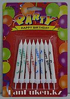 Набор свечей для торта 8 штук