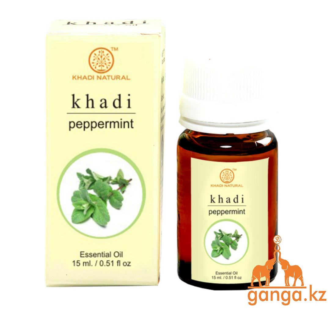 Натуральное эфирное масло Мяты Перечной (Essential Oil Peppermint KHADI), 15 мл