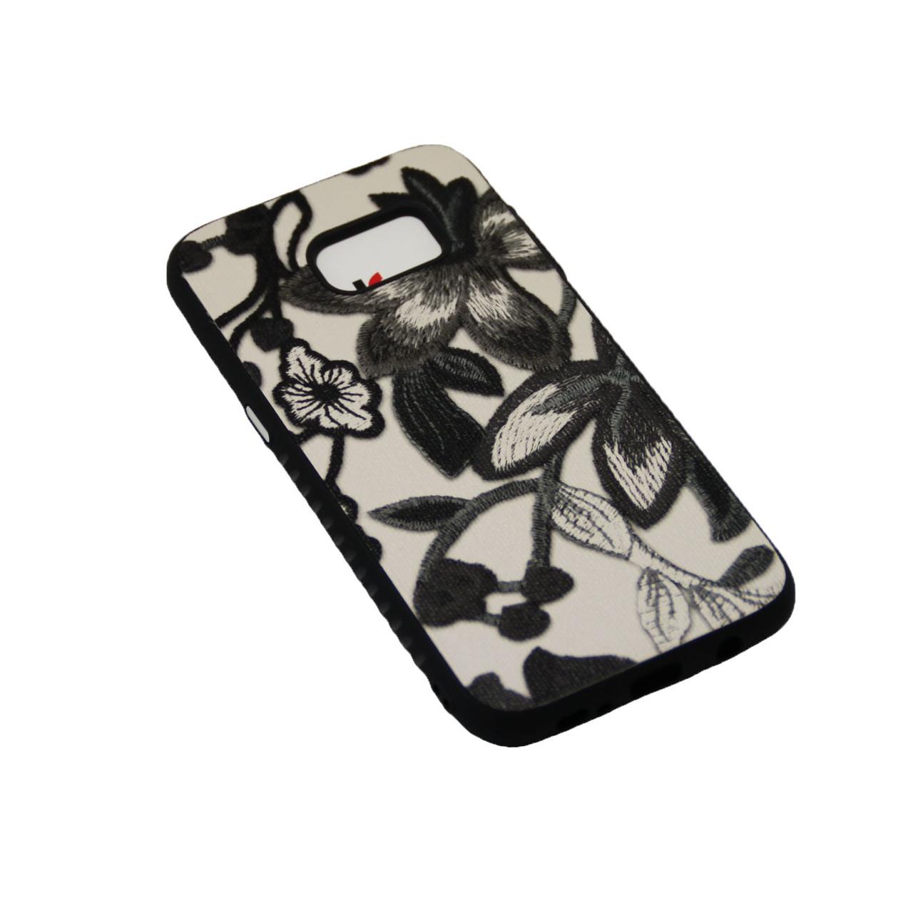 Чехол Fashion Силикон Цветы iPhone 6