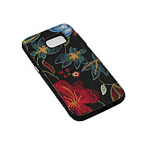 Чехол Fashion Силикон Цветы Samsung S8 Plus, фото 3