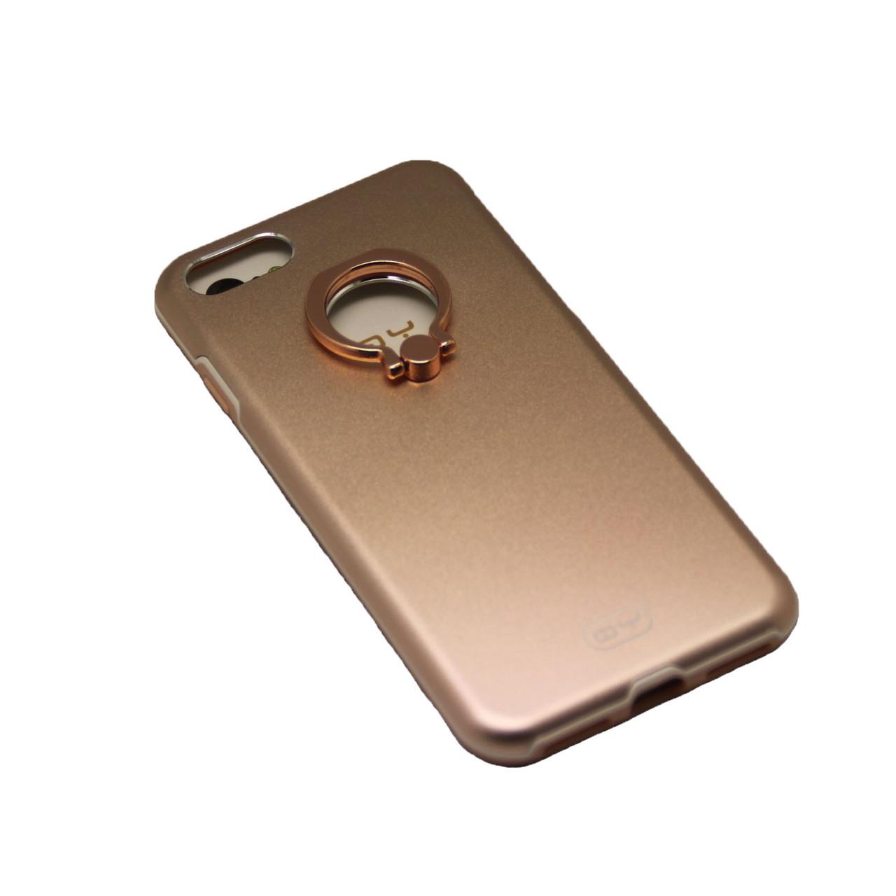 Чехол QY Yang с кольцом iPhone 7 Plus - фото 5
