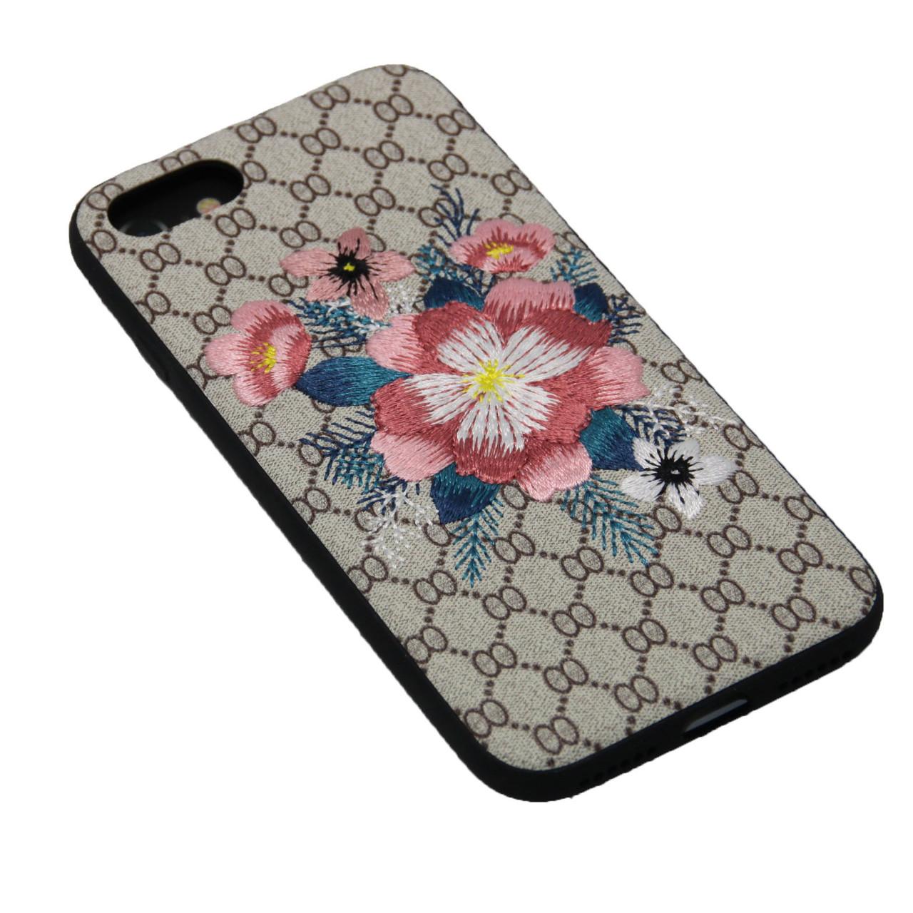 Чехол WK Embroidery iPhone 7 - фото 1