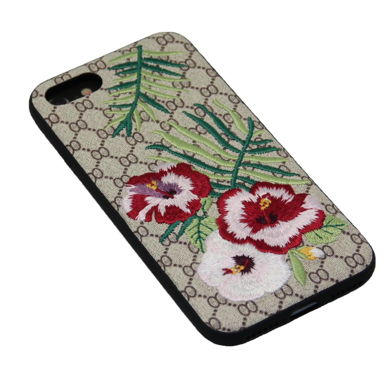 Чехол WK Embroidery iPhone 7 - фото 2
