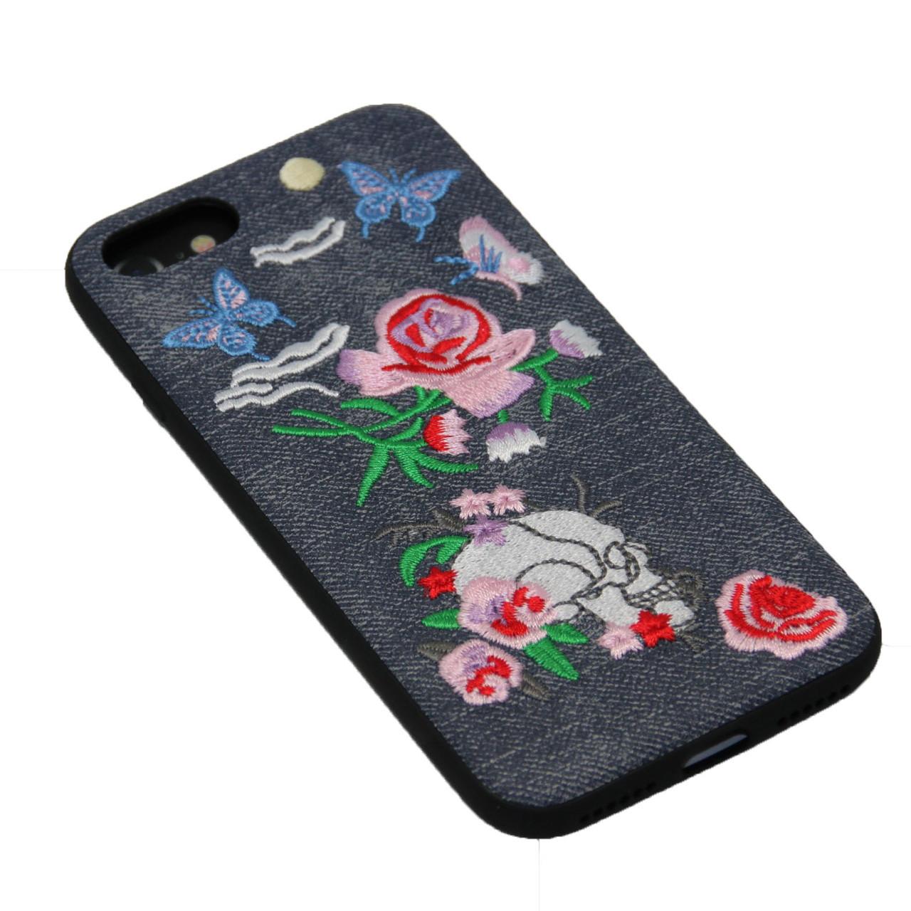 Чехол WK Embroidery iPhone 7 - фото 4