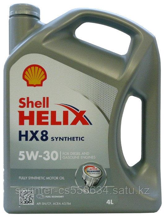 Моторное масло Shell Helix НХ8 5w30 4 литра