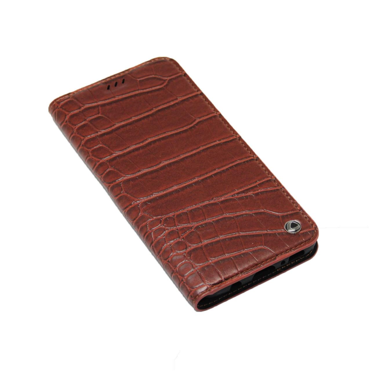 Чехол OCCA Wild Flip кожаный Samsung S8