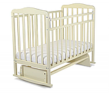 СКВ Кровать детская МИТЕНЬКА (маятник поперечный) венге, фото 4